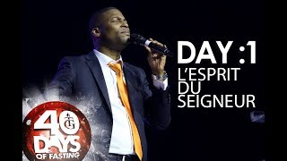 Pasteur Gregory Toussaint | 40 DAY FAST - DAY 1 | L'esprit du Seigneur