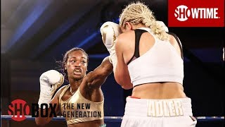 Nikki Adler vs. Claressa Shields Highlights | ShoBox: The New Generation