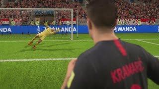 World Cup 2018 Croatia vs England - Semi Finals 2018 Full Match First Look Quick Sim (FIFA 18)