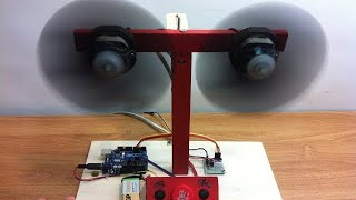 اصنع بنفسك مروحة دوارة | باستخدام الاردوينو|  |Revolving Table Fan | using arduino uno