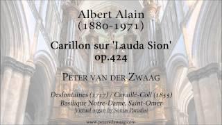 Albert Alain - Carillon sur