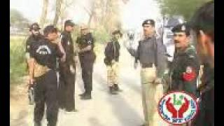 Police attack on protester of meelad nabvi in Dhakki Dera ismail khan