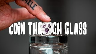 Learn To Make A Coin APPEAR INSIDE A Glass!!