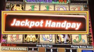 JACKPOT!  HUGE WIN! Cleopatra II Slot Machine Bonus! ~ IGT (Cleopatra 2 Jackpot)