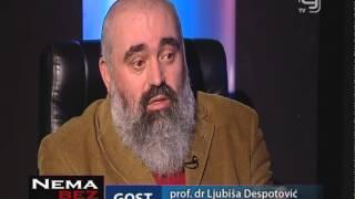TV KANAL 9, NOVI SAD: EMISIJA NEMA BEZ VEZE 26.01.2015. prof.dr Ljubiša Despotović