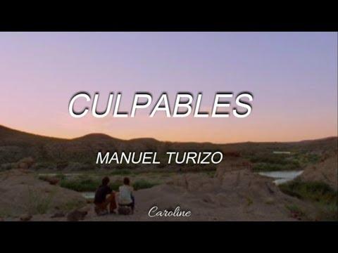 Culpables Manuel Turizo Letra