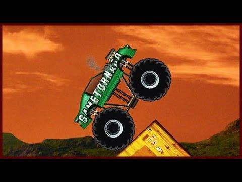 Monster Truck Demolisher Flash Game Walkthrough 24 levels