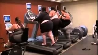Fat women workout