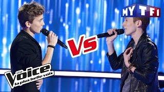 Sacha VS Enzo - « Alter Ego » (Jean-Jacques Goldman) | The Voice France 2017 | Battle