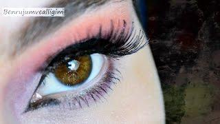 Turuncu & Mor Tonlarında Göz Makyajı 💄 - #İnstagram