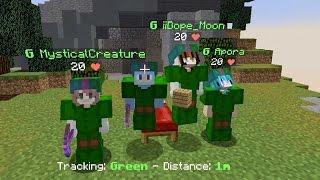 This Team Rekt / Minecraft Bed Wars with Fans! / Gamer Chad