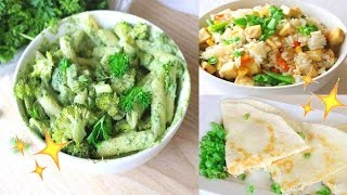 EASY + HEALTHY DINNER IDEAS • Vegan Recipes • Lisa Lorles