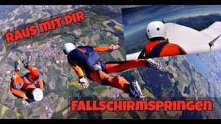 AFF Fallschirmspringer Grundausbildung Level 1-7 / Schweiz Skydive / Fallschirmspringen lernen