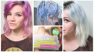 revue colour b4 sur du semi permanent - Coloration Sans Dcoloration