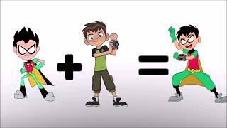 Teen Titans Go! Ben Ten compilation Plus -  bowser12345