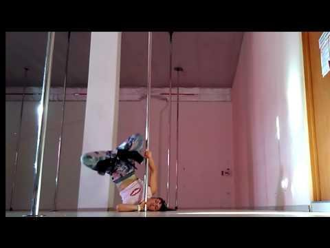 Exotic pole dance. Legwork. Svetlana Yurchak