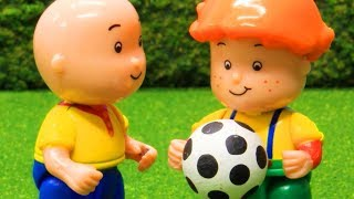 Funny Animated cartoons Kids | BALL GAMES | WATCH ONLINE | Caillou Stop Motion
