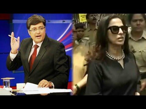 Shobha De's Tweet Controversy - The Newshour Debate: Shobhaa De Vs Shiv Sena (9th April 2015)