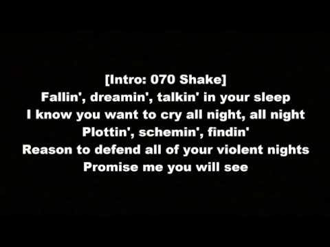 Kanye West -  Violent Crimes (With Lyrics)