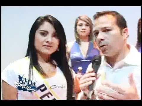 Miss Tanga Rueda de prensa Feria de Manizales 2011 Quehubopues TV