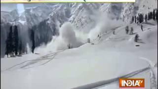 Avalanche Kills Kashmiri Tourist Ski Guide in Gulmarg - India TV