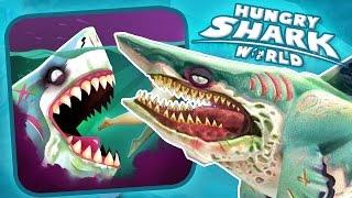 HUNGRY ZOMBIE SHARK!!! - Hungry Shark World | Ep 31 HD