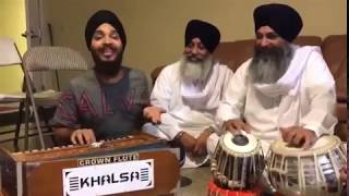 Devenderpal Singh Indian Idol & Tabla Bhai Sarbjeet Singh Ji Laadi