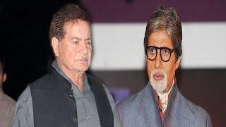 Why Salman Khan Papa Is ANGRY With Amitabh Bachchan