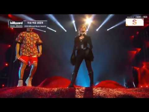 Pharrell Williams x Camila Cabello - Sangria Wine + Havana | Billboard Music Awards 2018