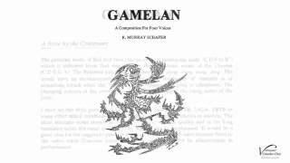 Gamelan - R. Murray Schafer