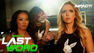 Gail Kim, Rosemary & Allie Vow More To Come | #LastWord Sept 21, 2017