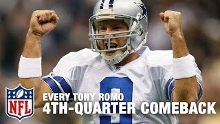 Every Tony Romo 4th-Quarter Comeback Victory! | Tony Romo Retires | NFL