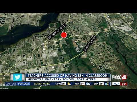 Xxx Mp4 Teachers Caught Having Sex In Fort Myers Classroom 3gp Sex