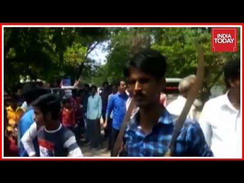 Xxx Mp4 TMC Workers Wield Swords Machetes In Bike Rally To Intimidate Oppn 3gp Sex