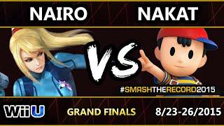 STR2015 - CLG | Nakat (Ness, Pikachu, Lucas) Vs. Liquid Nairo (ZSS) SSB4 GF - Smash 4