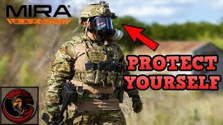 MIRA Safety CM-6M Gas Mask Overview | TACTICAL GAS MASK