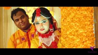 Holud Ceremony of Liphat   l ©Purple Bird l Wedding Cinematography 2