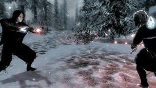 Skyrim Battles - Arnbjorn vs Serana [Legendary Settings]