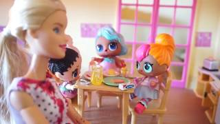 LOL SURPRISE DOLLS Morning Routine And ART CLASS At School!