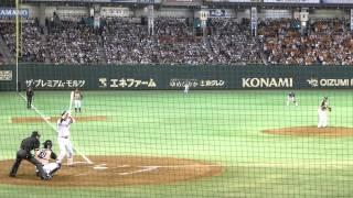 日本シリーズ 武田勝vs坂本勇人