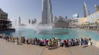 The Dubai Fountain Burj Khalifa - Sama Dubai