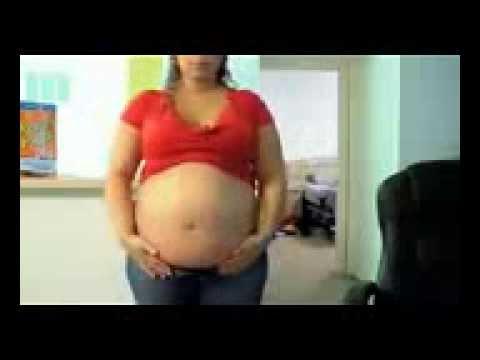hot BBW aunty belly show