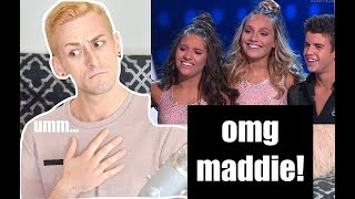 Dance Coach reacts to Mackenzie and Sage DWTS ft Maddie Ziegler