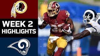 Redskins vs. Rams   NFL Week 2 Game Highlights