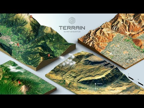 Xxx Mp4 How To Create A 3D Terrain With Google Maps And Height Maps In Photoshop 3D Map Generator Terrain 3gp Sex