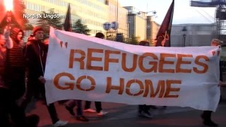 Anti-Immigrant Protests Grow as Refugees Flood Europe | ABC News