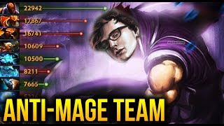 Miracle- Anti-Mage Try So HARD To CARRY - Dota 2 7.07B