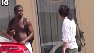 Are Black Guys Violent? (Social Experiment) - Hood Pranks Exposed