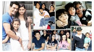 bollywood news latest Famous Television couple images And Their cute Star Kids images