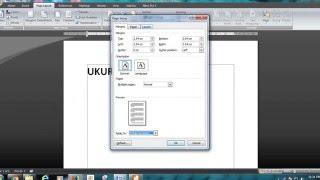 Cara Mengatur Ukuran Kertas A4S DAN F4 Pada Microsoft Office